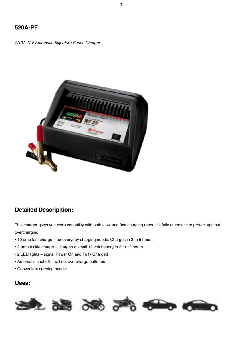 Schumacher Battery Chargers - Midstate Battery